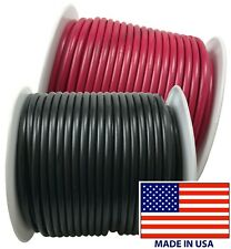 (2) 12 Gauge Wire 100 FT Red & Black Primary AWG Automotive Stranded Copper USA