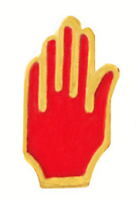 Red Hand of Ulster Cut Out Tiny Orange Order Pin Badge