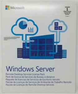 Windows Server 2016 CAL Client Access License For Device 1 USER 6VC-03050 *NEW*