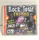 Rock Tour Tycoon - Pc Cd Rom Computer Game  *complete*