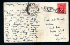 Hong Kong - 1936 KGV Paquebot Postcard of P&O SS Rawalpindi