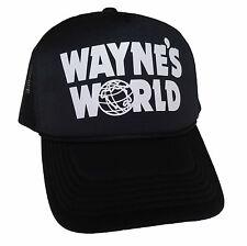 Wayne's World Trucker Hat Wayne Campbell Halloween Costume snapback Mesh Caps