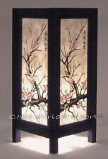 ASIAN ORIENTAL HOME ART TABLE BEDSIDE, NIGHTSTAND LAMP **JAPANESE SAKURA TREE**