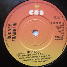 "RODNEY FRANKLIN - The Groove - Excellent Condition 7"" Single CBS 8529"