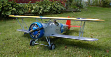 Giant 1/6 Scale Boeing F4B-2/ P-12 Biplane Plans, Templates, Instructions 60ws