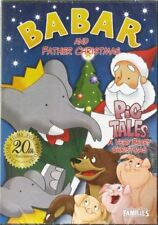 BABAR and Father Christmas & Pig Tales A Very Beary Christmas DVD New & Sealed