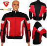 Genuine Mens Waterproof Genuine Motorbike Motorcycle Cordura Jacket CE Armoured