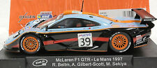 SLOT IT SICA10H GULF MCLAREN F1 GTR #39 LEMANS 1997 1/32 SLOT CARS