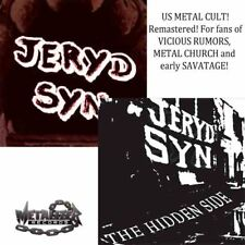 JERYD SYN- same/The Hidden Side 2CD set US METAL cult ala SAVATAGE/METAL CHURCH