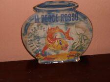 IL PESCE ROSSO-LIBRO-LIBRETTO RARISSIMO CON ILLUSTRAZIONI ACQUERELLO. DEL 1953