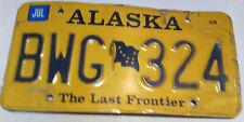 Original Alaska Auto Kennzeichen Nummernschilder