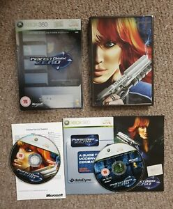 Perfect Dark Zero Limited Collector's Edition Xbox 360 game steelbook RARE