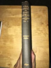 First Footsteps in East Africa by Burton Vol. 1 1894 Memorial Edition