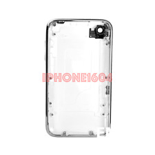 iPhone 3G 16GB Housing with Chrome Bezel and Volume Button – White - CANADA
