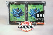 100 Bustine protettive Sleeves Ultra Pro Black Lotus Old School Magic MTG FOW