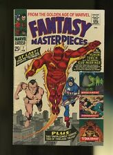 Fantasy Masterpieces 7 FN+ 6.5 * 1 Book Lot * Marvel,1967! America! Avengers!