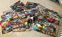 VINTAGE EMPTY LEGO BOX FRONTS - NO LEGOS INCLUDED  LARGE LOT ~ Star Wars, Cars..
