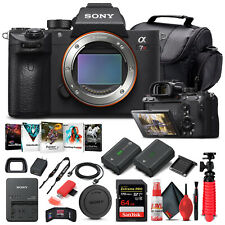 Sony Alpha a7R III Mirrorless Camera Body Only ILCE7RM3/B - Basic Bundle