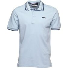 DUCK AND COVER MENS ACUTE POLO – PALE BLUE (GLACIER) – SMALL – BNWT