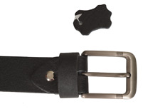 Leather Belt 100% Genuine Buffalo Full Grain one Piece Excellent  For Men 35 MM
