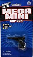 "Luger Desert Fox Pistol Cap Gun Key Chain Mega Mini 2.25"" Long New Free Shipping"