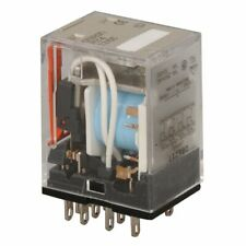 Omron MY4 12vdc Coil 4PDT Relay, Ice Cube 5A 14 Pin 0862Y1 (R12-17D3-12)