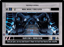 Death Star II: Throne Room [Near Mint/Mint] DEATH STAR II star wars ccg swccg