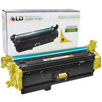 LD Remanufactured Replacement for HP CE402A / 507A Yellow Toner Cartridge