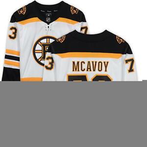 Charlie McAvoy Boston Bruins Autographed White Fanatics Breakaway Jersey