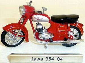 Jawa 354 04 Motorcycle Red GDR 1:24 Atlas 7168104 New Boxed LA4 Μ