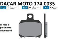 174.0035 PLAQUETTE DE FREIN ORIGINAL POLINI MBK THUNDER 125 Carburateur