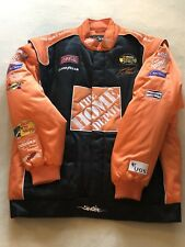 Chase Authentics NASCAR Tony Stewart Home Depot Coca Cola Racing Jacket Men's XL