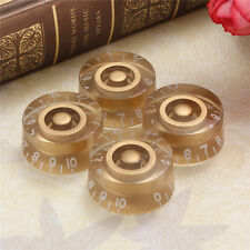 4pcs Gold Speed Volume Tone Control Knobs For Gibson Les Paul Electric Guitar A