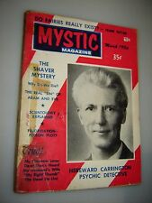 March 1956 Mystic Magazine #14 Occult Flying Saucers & the Shaver Mystery UFO'S