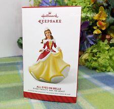 Hallmark All Eyes on Belle ornament 2014 Disney Beauty and the beast-QXD6063