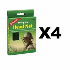 Coghlan's Mosquito Head Net Unisex Bug Netting Outdoor Camping Fishing (4-Pack)