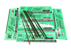 Jeweller's Saw Blades 120 Blade Packs For Piercing,modelcra and Fret Saw Frames