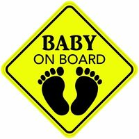 BABY ON BOARD STICKER DECAL CHILD CAR SIGN MADE IN USA Buy 2 Get 3rd FREE