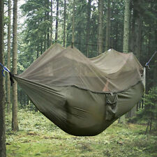 More details for double person outdoor travel camping tent hanging hammock with mosquito net