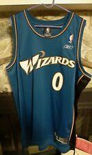 Vintage Gilbert Arenas Washington Wizards Champion Jersey Size 2XL #0 Reebok NBA