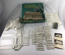 Vintage 1963 lincoln memorial #2200 model kit Superlon superior plastics inc Lot