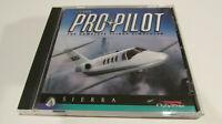 Sierra Pro Pilot 2000 Flight Simulator (CD-ROM, 1997) PC Original Release RARE