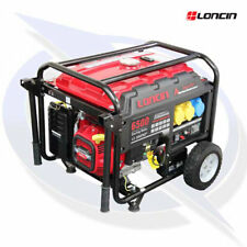 Loncin LC6500D-AS 6.2KVA/5KW Frame Mounted Petrol Generator - Electric Start