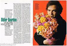 Coupure de presse Clipping 1992 (2 pages) Didier Bourdon