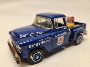 Matchbox Collectibles 1956 Chevrolet 3100 Mobil Gas Harris Gasoline 1:43 Read