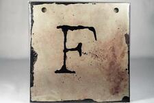 "Words To Live By Sherri Ohler 6"" Alphabet Tiles Letter 'F' #101785 Demdaco NEW"