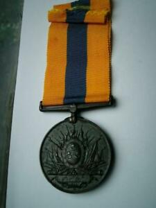 Scarce Bronze Khedive's Sudan 1896 medal unnamed as issued to non combatant EF
