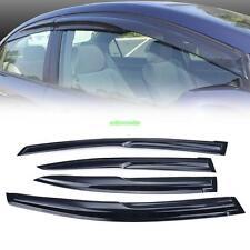Window Vent Sun Shade Guard Visor For Honda Civic 4 Dr Sedan 2012 2013 2014 2015