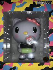 "Sdcc 2020 Exclusive Kidrobot x 6.5"" Cute Hello Kitty Quiccs Art Figure Neon Pop"