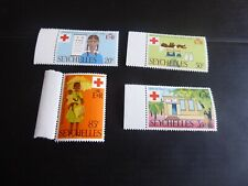 SEYCHELLES 1970 SG 284-287 CENT OF RED CROSS MNH